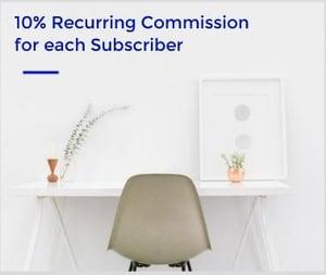 10 percent commission