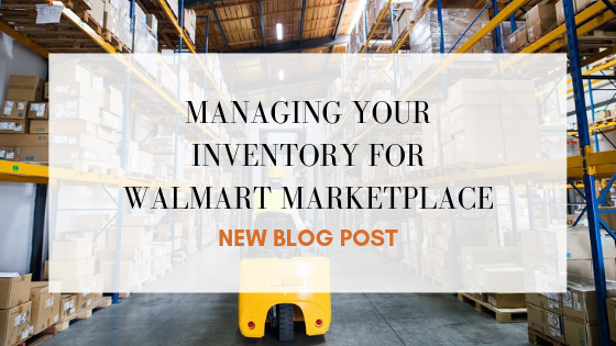 Managing Your Inventory for Walmart Marketplace