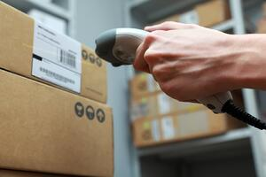 Barcode Scanning and Custom Label Printing