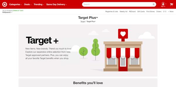 Target Plus™  Page