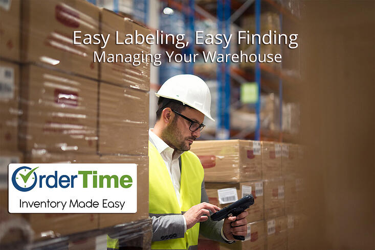 Easy Labeling, Easy Finding - Managing Your Warehouse