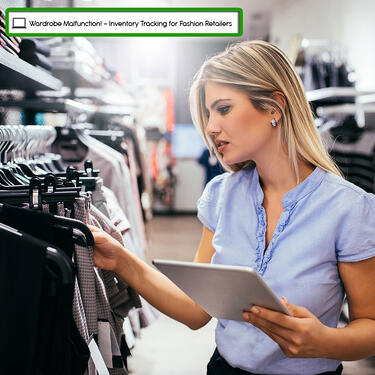 inventory tracking - barcode tracking - fashion - retail