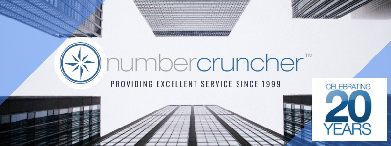 NumberCruncher 20 Year Anniversary Banner