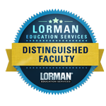 Lorman Distinguished Faculty Badge