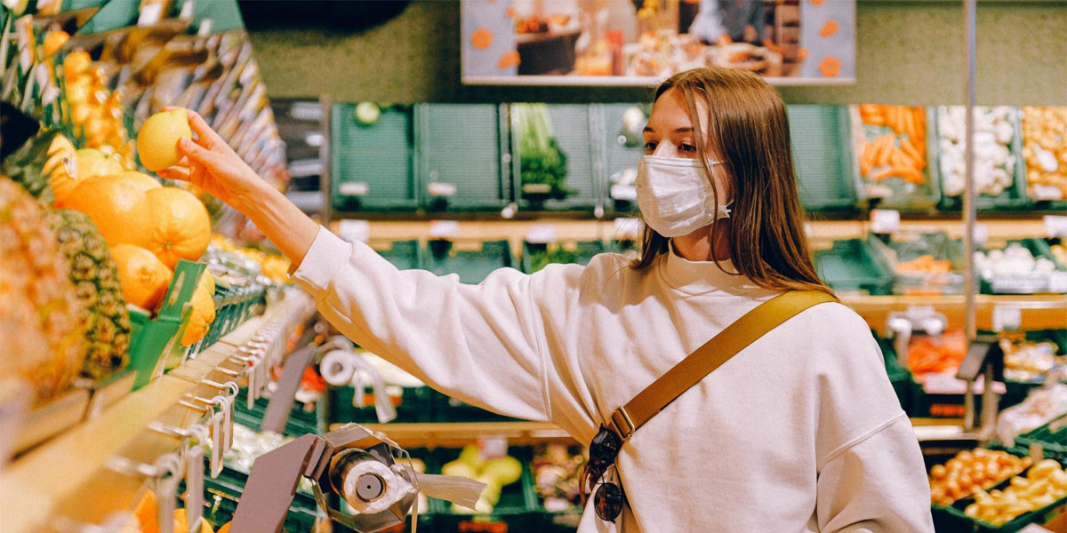 mask-covid-grocery-store-pandemic-food-manufacturing
